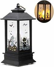 LITZEE Lámpara decorativa de Halloween Bombilla