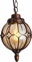 LITZEE Linterna colgante para exteriores, luz de