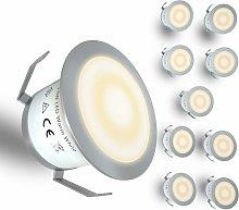 LITZEE Luz LED para terraza de bajo voltaje, kit