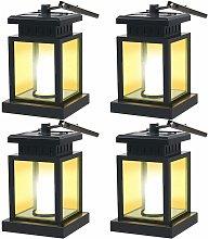 LITZEE Mission - Linterna LED solar, vintage, con