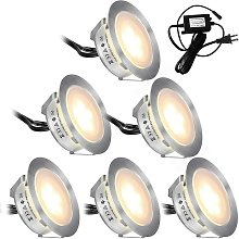 LITZEE - Paquete de 6 kits de iluminación LED