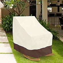 LIUTT Funda para silla mecedora individual de 70 x