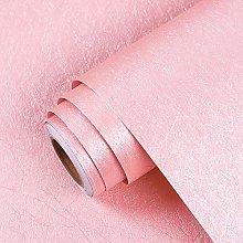 Livelynine 40CMX1000CM Papel Pintado Rosa Palo