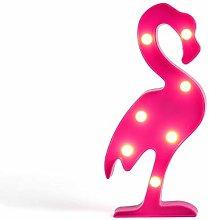 LIVOO Feel good moments - Lámpara LED de flamenco