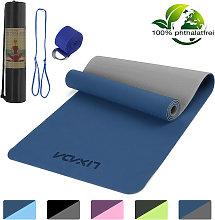 Lixada - 72x24IN Esterilla de Yoga antideslizante