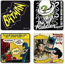 Logoshirt DC Comics - Batman Juego de Posavasos de