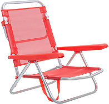 Lolahome - Silla de playa con brazos reclinable