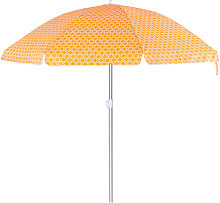 Lolahome - Sombrilla playa parasol naranja de