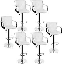 lolte de 6 taburetes de bar silla de bar con