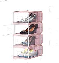 LOMJK Zapatera Caja de Zapatos de 8 Pack, Caja de