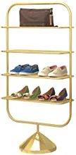 LOMJK Zapatera Rack de Zapatos Simple de 4 Capas,