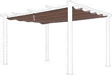Lona de techo deslizante para pérgola Condate de
