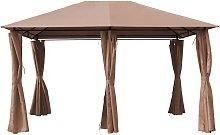 Lona y cortinas para Pergola Rosita - 3 x 4 m