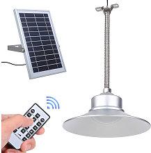 Los colgantes solar luz de techo con control