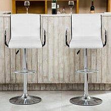 lote de 2 sillas de comedor con taburete de bar