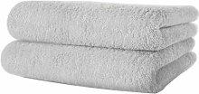 Lote de 30 cm de 30 x 50 100% algodón a mano