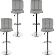 lote de 4 taburetes de bar, silla de bar, barra de
