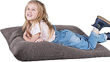Lounge Pug®, Puff Cama para niños, Pompón -