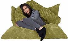 Lounge Pug®, Puff Gigante Cama XL, Pana Clásica