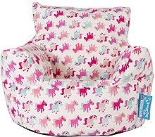 Lounge Pug®, Puff Sillón para niños, Estampado