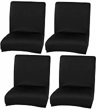LOVIVER 4pack Universal Soft Dining Chair Cover