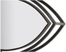 LTD - Espejo De Pared Ovalado Cristal (96 X 40 Cm)