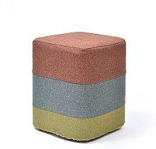LTHDD Taburete otomano de madera para sofá, puf,