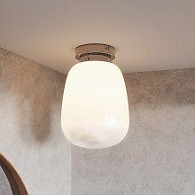 Lucande Tessi lámpara de techo de vidrio