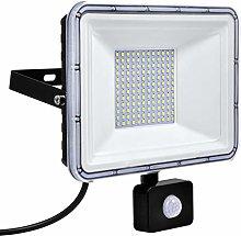 Luces de Inundación LED de 100W con Sensor de