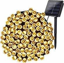Luces de Navidad Solares Exterior, Joomer 200LED