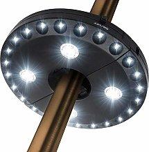 Luces de paraguas para exteriores, luces solares