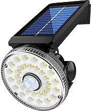 Luces de Seguridad Solar - Luz Solar al Aire Libre