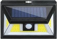 Luces solares a prueba de agua COB PIR Sensor de