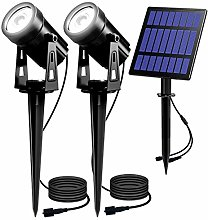 Luces Solares Jardín T-SUN 2 en 1 LED Foco con