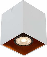 Lucide BIDO - Foco de techo (1 x GU10, color blanco