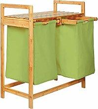 Lumaland Estantería de baño en Bambú con cesto