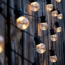 Lumi jardín guirnalda luz blanca Solar Party