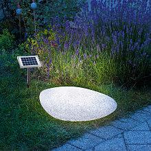 Luminaria solar de piedra decorativa 106066 -
