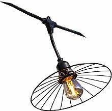 LUMISKY CHIC JAGE - Guirnalda luminosa, color negro