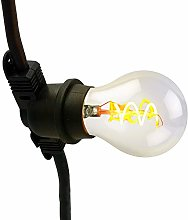 LUMISKY PEGGY - Guirnalda de luces de color negro