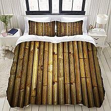Luoquan Ropa de Cama - Funda nórdica Bambú