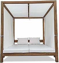 Luxury Furniture- Cama Balinesa Moderna para