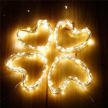 Luz de cadena de hadas al aire libre, iluminacion