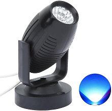 Luz de escenario LED AC85-265V, mini foco de