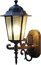 Luz de la pared europea Pared lámpara de pared