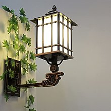Luz de la pared europea Restaurante Lámpara de