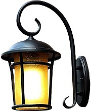 Luz de pared Lámpara de pared al aire libre retro