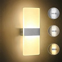 Luz de Pared LED Simple Lámpara de Pared de