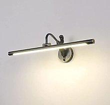Luz de tocador de cobre LED, accesorio de