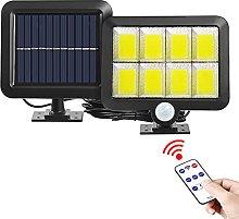 Luz LED Solar Impermeable al Aire Libre Sensor de